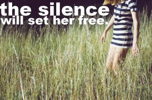 the silence. by ForeverASickKid