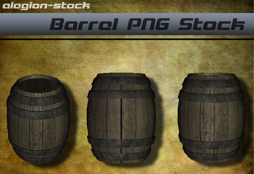 Barrel PNG Stock by Alegion-stock