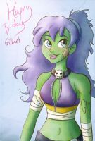 Happy birthday Gilbert by tamaraR