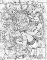 COTN - From Beyond pencils by gb2k