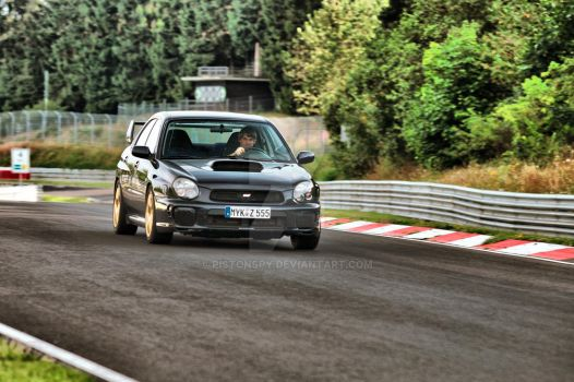Subaru At The Ring by Pistonspy