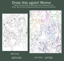 Draw again meme :D by nastardch