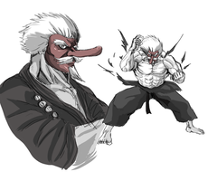 Mr. Karate the Undefeated by Horoko
