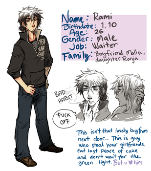 Simple OC profile Rami by Sadyna