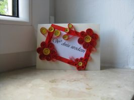 quilling card 3 by DreamsComeTrue2