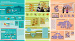 Scientific infographics for schools by Irkis
