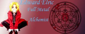 Edward Elric Signature by L-luvs-cake