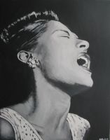 Billy Holiday by stueplante