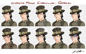 CMC - Gabriel Expression Sheet by Bostonology