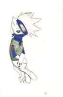 Kakashi pony by MiddleDreamer