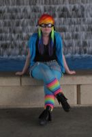 Rainbow Dash Human Type Cosplayer 4 by NocturnalRadiance