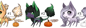 Special Pumpkin Fruit Bloom Auction Batch: CLOSED by Kuro-Creations