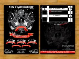 New Year Concert by XtrDesign