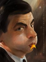 Mr. Bean by stevegoad