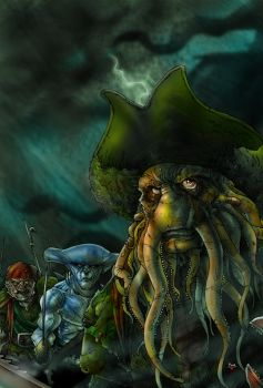 PIRATES OF THE CARIBBEAN by themico