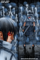 Naruto 573 - Sasuke enters in battle by staf93