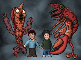 Drake + Josh Really Big Shrimp by NAveryW