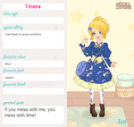 Timera (Sweet Lolita contest entry) by Meriancel