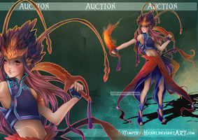(CLOSED) - Flame Sorceress Adoptable #031 by Timothy-Henri