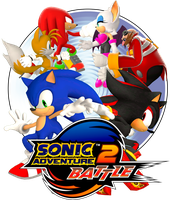 Sonic Adventure 2: Battle Logo by Lucas-da-Hedgehog