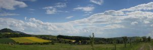 panorama of our village by veronnyac