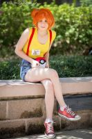 Misty and her Pokeball by kennymccormicklover1