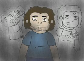 LOST: The Judgement of Hurley by Malion