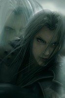 One Winged Angel iPod wallpaper by guineapiggin