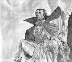 Dracula and the girl by divjace
