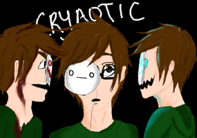 The many faces of Cryaotic by 13Zander13
