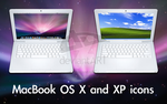 MacBook OS X and XP icons by smartazz104