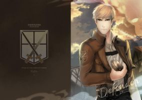My Jearmin Doujinshi Cover by rainbuni