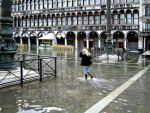 Fording in San Marco Square by saracco