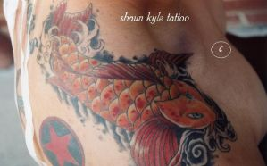 shoulder koi by Shaun-Kyle