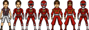 Rocky / Red Ranger (Movie) by MicroManED