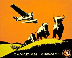 Canadian Airways by DecoEchoes