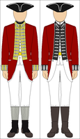 English Revolutionary War Uniforms by Tounushi