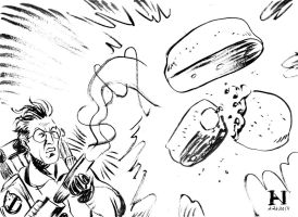 Egon Spengler vs. Twinkies by IanJMiller