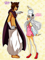 so tall and so tiny by AderiAsha