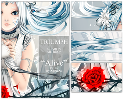 TRIUMPH artbook preview: Alive by AngieZu