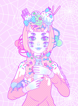 Miss Muffet by King-Lulu-Deer