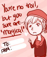 Hetalia Valentines- Norway by meingottawesome