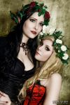 elven sisters by Lycilia