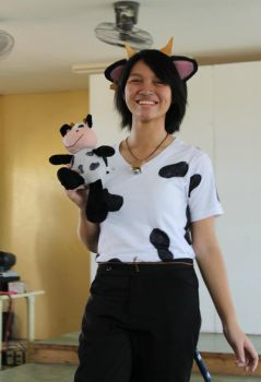 Zeh Cow Cosplay by TootCensored