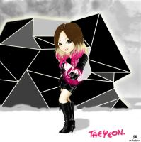 Taeyeon The Boys by tsuyochii