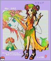 Pokemon 182 : Bellossom by magicfever49
