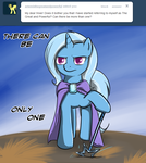 Ask Trixie - Only One by TheParagon
