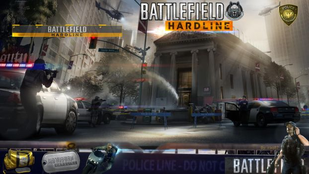 Theme for Xbox one |Hardline by msk11