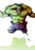 Hulk by theSadSon