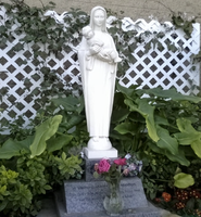 Madonna and Child Grotto by mouselady